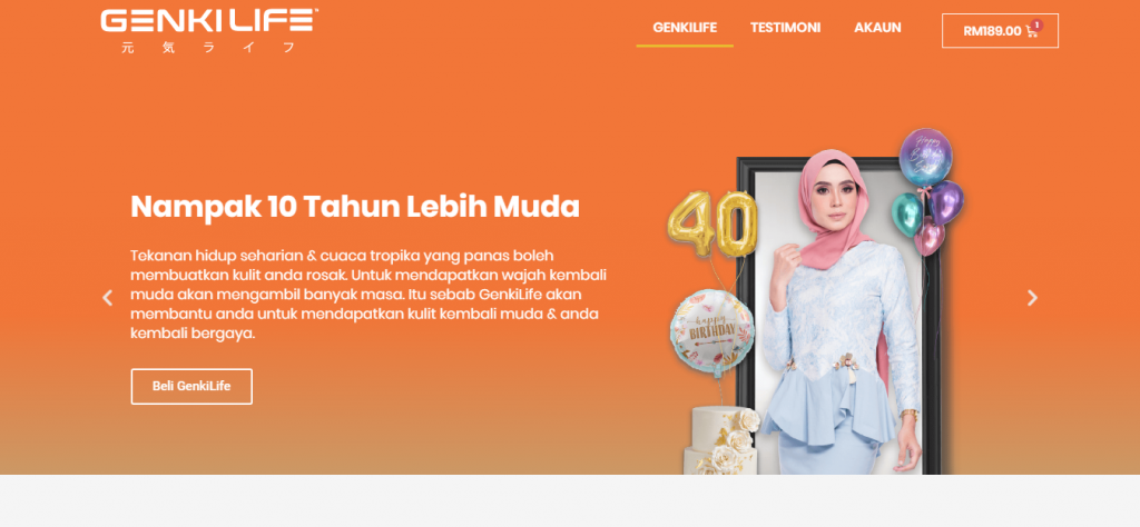 Website Produk Slimming