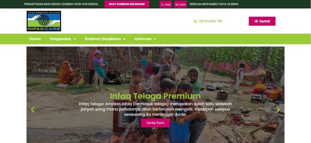 Website Design Infaq Malaysia